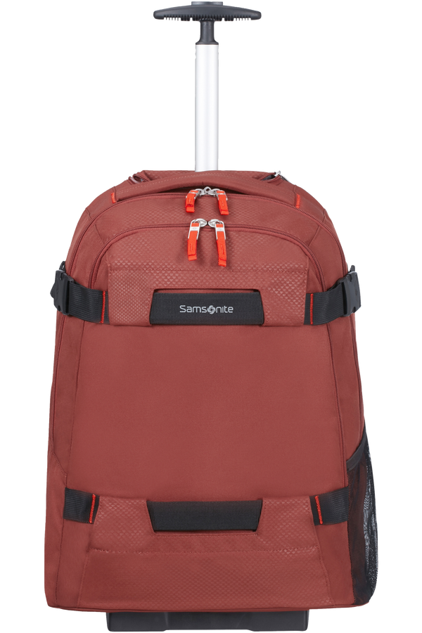Samsonite Sonora Laptop Backpack with Wheels 55cm 17inch Barn Red