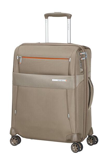 Duopack Expanderbar resväska med 4 hjul 55cm