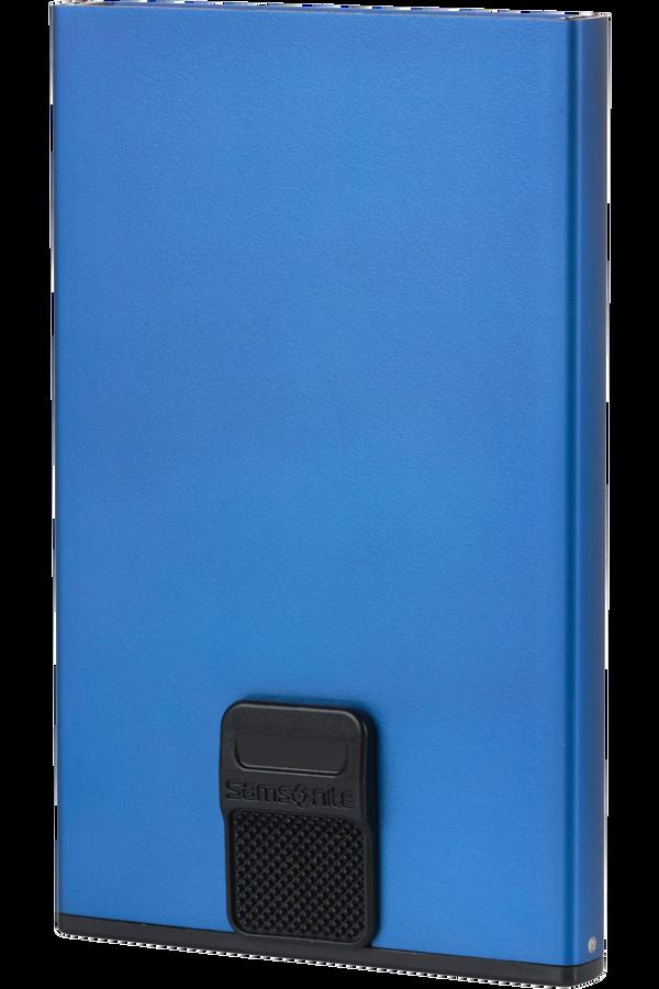 Samsonite Alu Fit 201 - Slide-up Case  True Blue