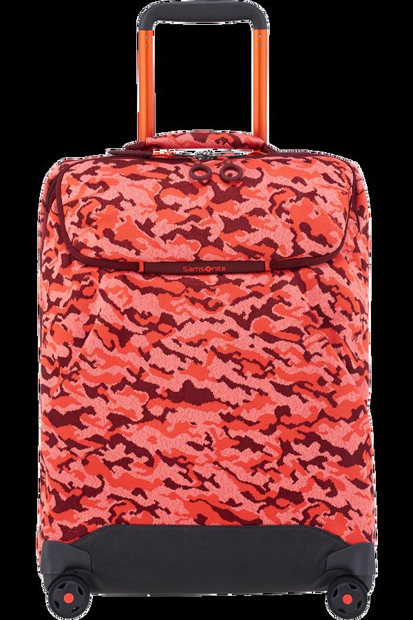 Samsonite Neoknit Spinner Duffle 55cm  Fluo Red Camo