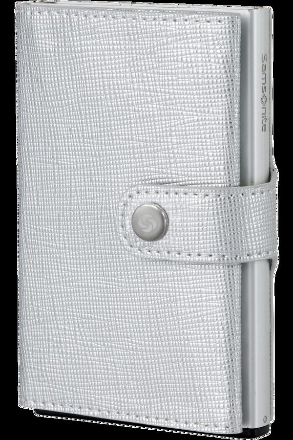 Samsonite Alu Fit 202 - Slide-up Wallet  Silver