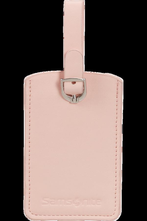 Samsonite Global Ta Rectangle Luggage Tag x2 Pale Rose Pink