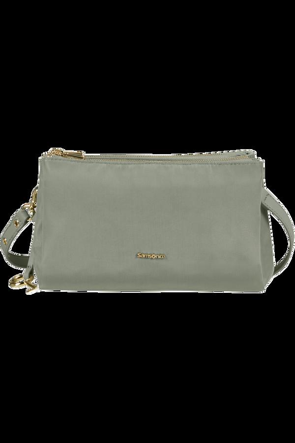 Samsonite Skyler Pro Horizontal Shoulder Bag 3 Comp S  Grey Sage