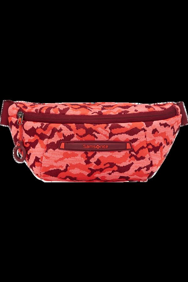 Samsonite Neoknit Belt Bag  Fluo Red Camo
