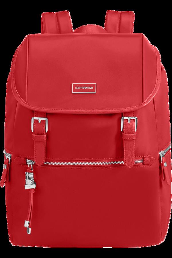 Samsonite Karissa Biz Backpack +Flap  14.1inch Formula Red