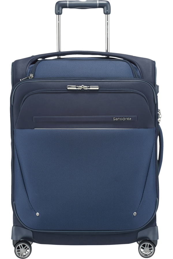 Samsonite B-Lite Icon Spinner Exp. Toppocket 55cm  Dark Blue