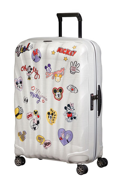 C-Lite Disney Resväska med 4 hjul 75cm