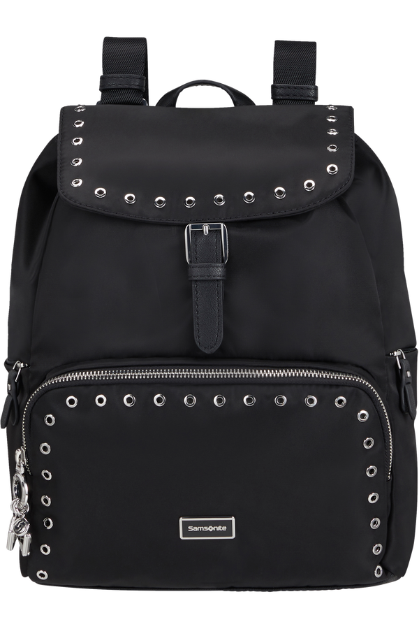 Samsonite Karissa 2.0 Backpack 3 pockets 1 Buckle Eylt  Black/Eyelets