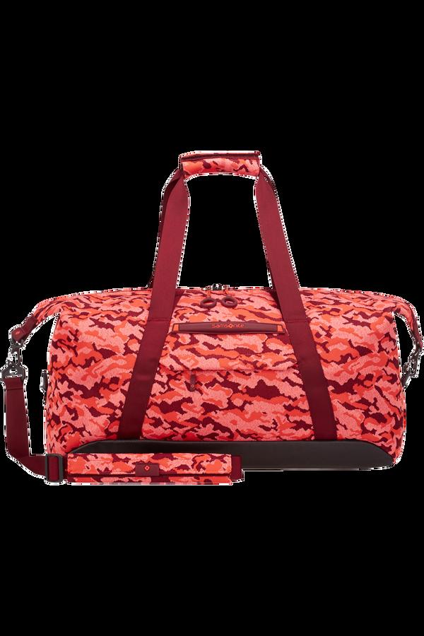 Samsonite Neoknit Duffle 55cm  Fluo Red Camo
