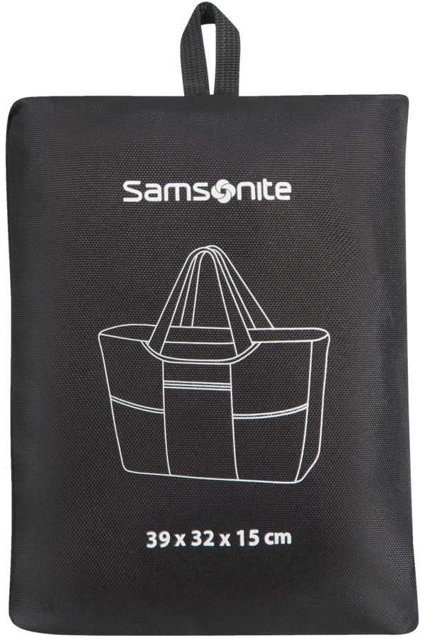 Samsonite Global Ta Foldable Shopping  Black