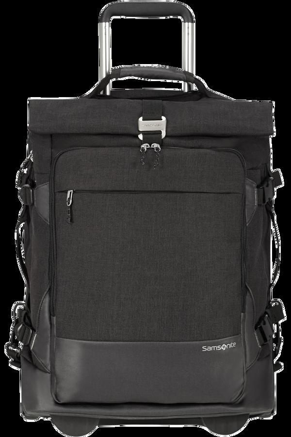 Samsonite Ziproll Duffle/Wh 55/20 Backpack  Black