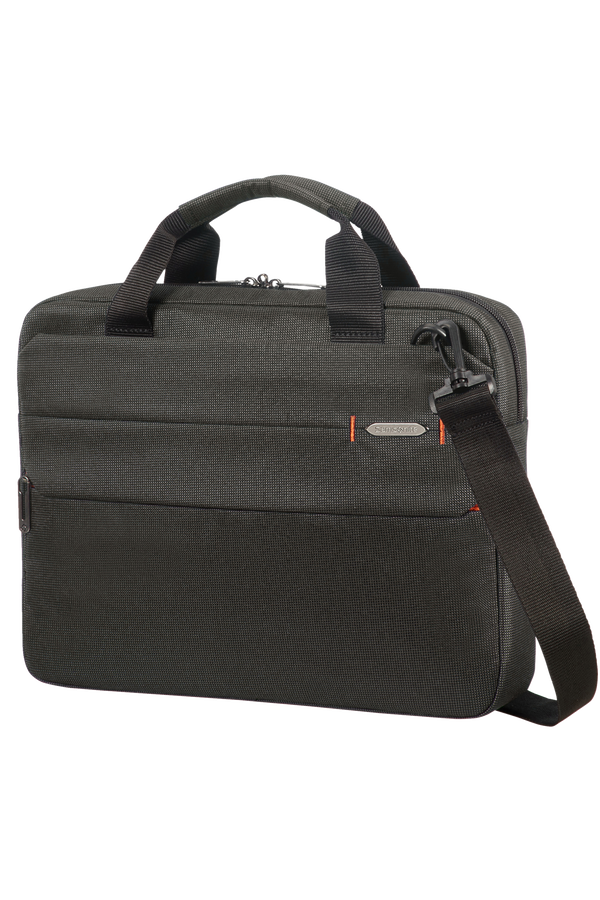 Samsonite Network 3 Laptop Bag  35.8cm/14.1inch Charcoal Black