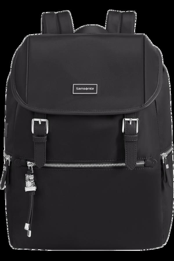 Samsonite Karissa Biz Backpack 14.1'+Flap W/Usb  Black