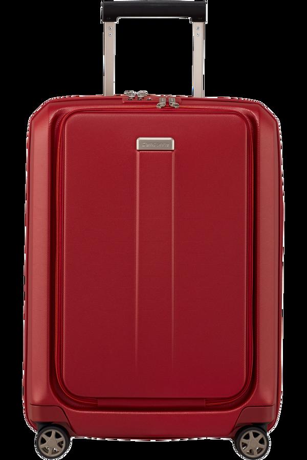 Samsonite Prodigy Spinner Expandable 55cm  Red/Orange
