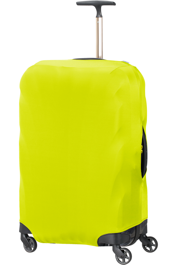 Samsonite Global Ta Lycra Luggage Cover M  Lime green