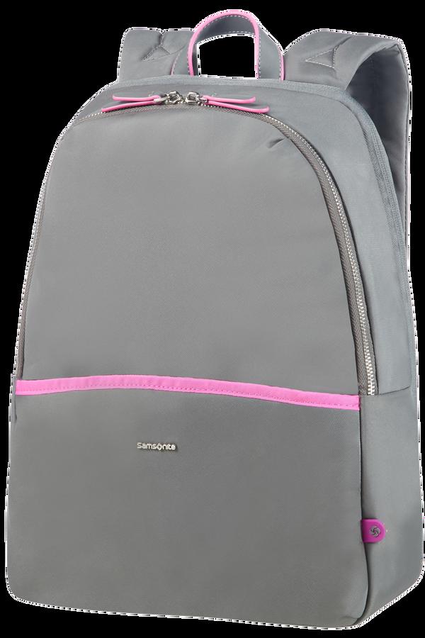 Samsonite Nefti Laptop Backpack 35,8cm/14.1inch  Rock Grey/Fuchsia
