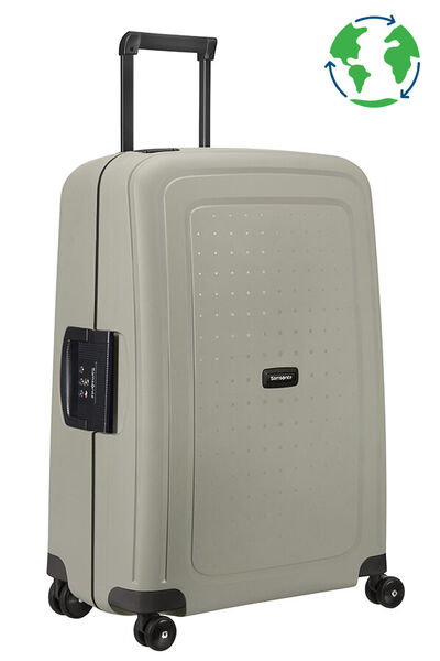 S'Cure Eco Earth Resväska med 4 hjul 69cm