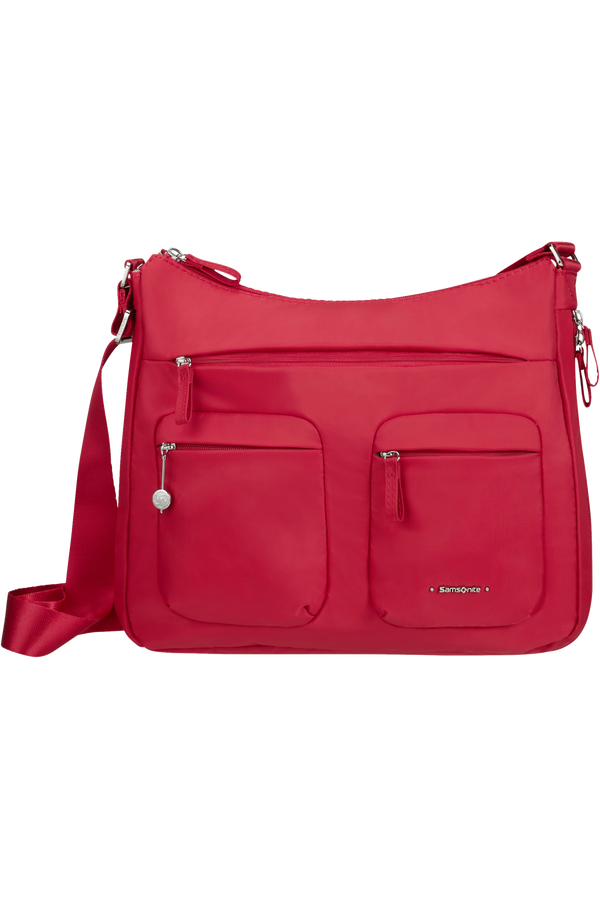 Samsonite Move 3.0 Hobo Expandable M  Cherry Red