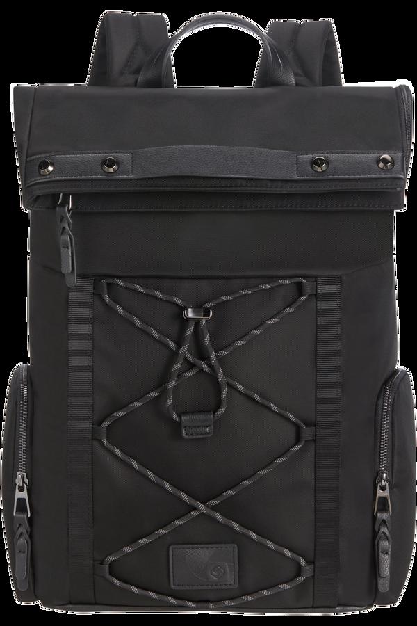 Samsonite Yourban Backpack + Flap  15.6inch Black