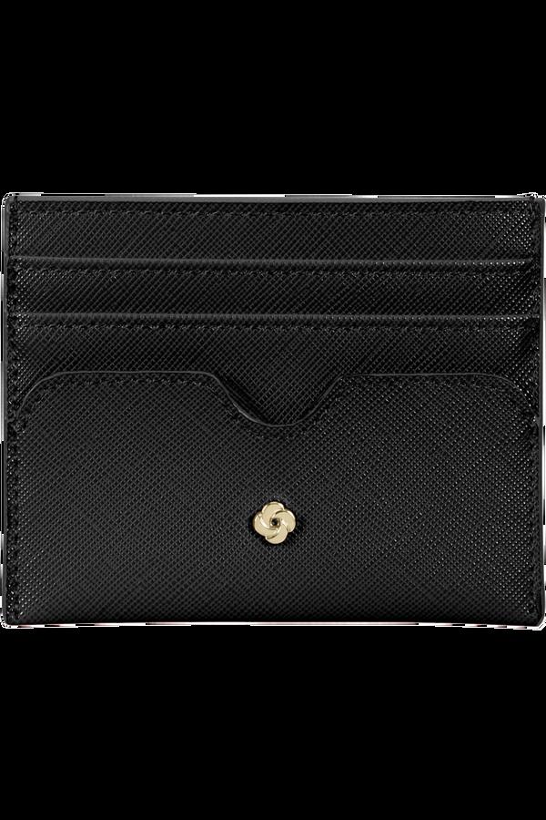 Samsonite Wavy Slg 337 - 6 Credit Card Holder  Black