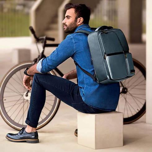 En perfekt kombination av avslappnad livsstil och funktionell ryggsäck.
