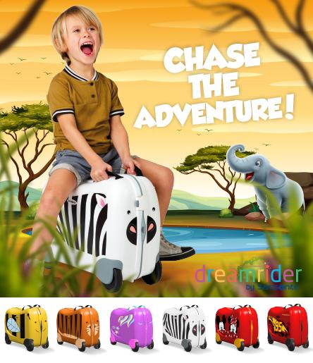 Resväska barn Stort urval av resväskor för barn med kända
