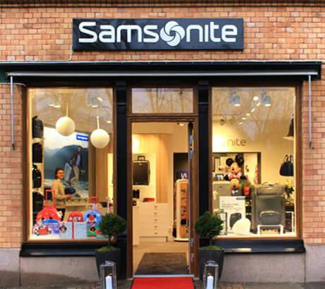 Välkommen till Skandinaviens första Samsonite Flagship Store!