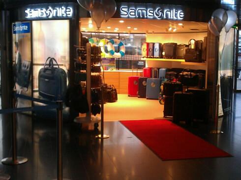 Välkommen till vår nyöppnade Samsonite quick store på Arlanda airport!