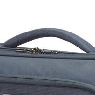 Neoprene padded handles for extra carrying comfort.