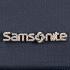 Samsonite-logotyp i metall