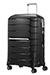 Flux Expanderbar resväska med 4 hjul 68cm Black